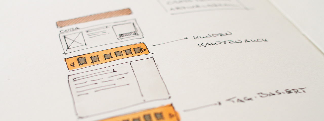 Cora - Online-Shop Konzept
