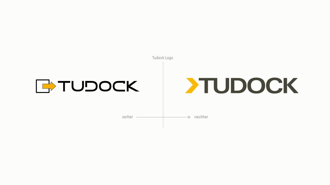 Tudock – Logo Entwicklung