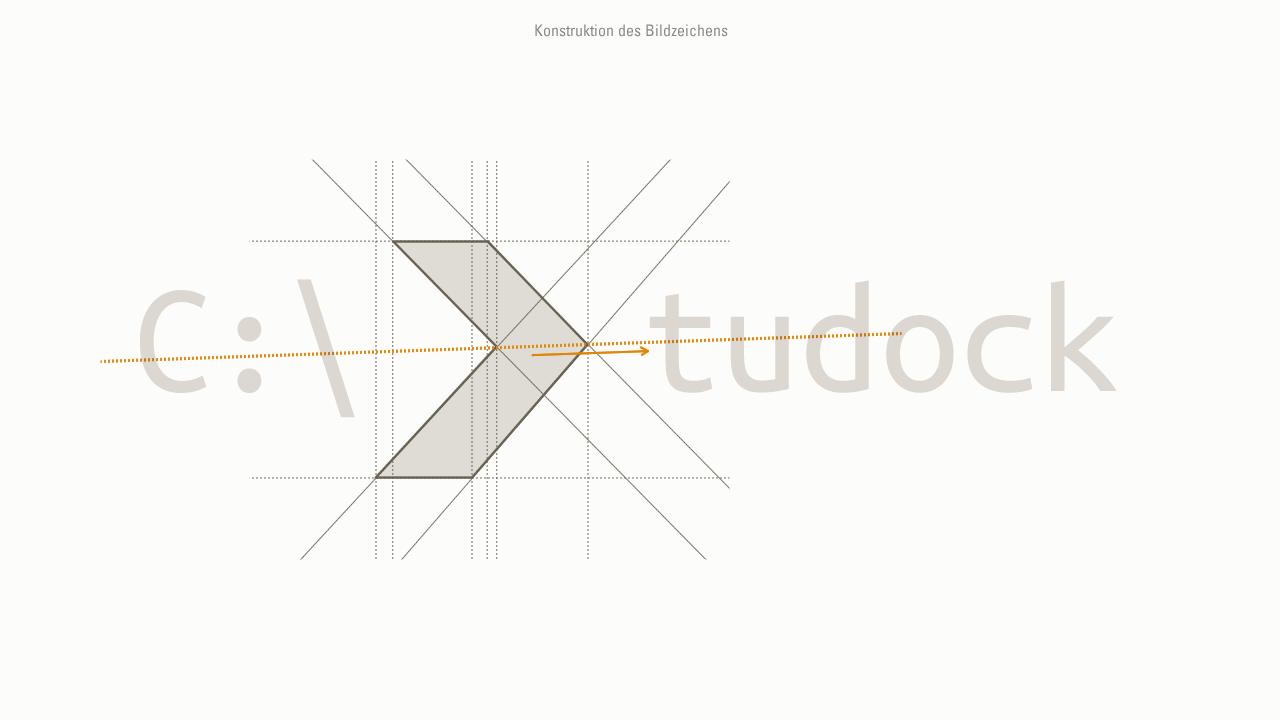 Tudock – Logo Konstruktion