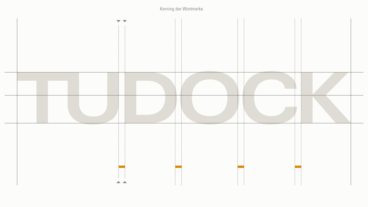 Tudock – Logo Wortmarke
