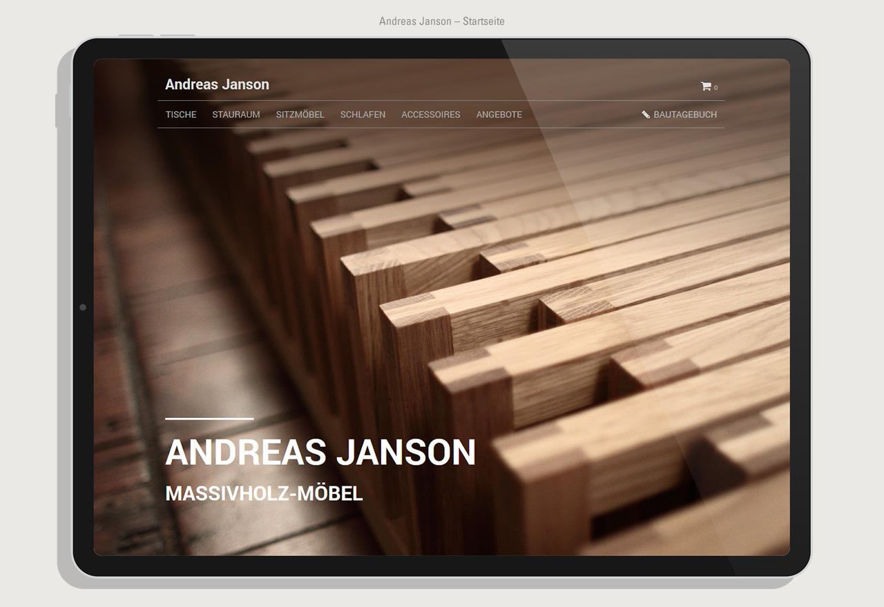 Andreas Janson - Shop