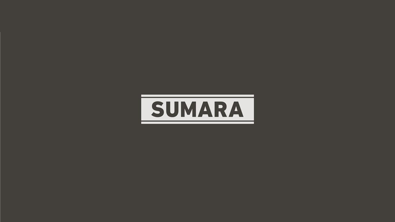 Sumara - Logo invertiert
