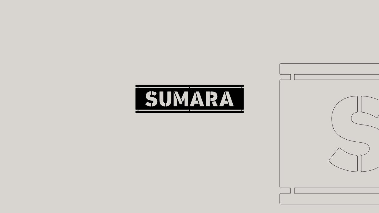 Sumara - Logo Stencil